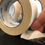 Heavy duty polypropylene – high performance acrylic adhesive