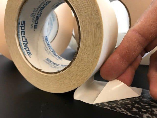 Heavy duty polypropylene – high performance acrylic adhesive